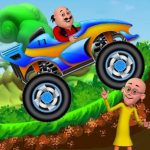 Motu Patlu Monster Car Game 2